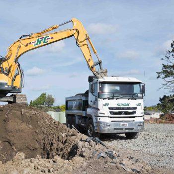 JFC digger & Truck